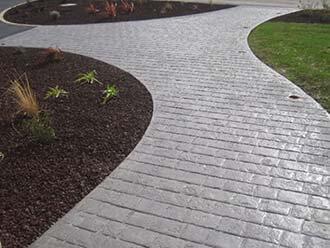 Travaux De Dallage Béton Imprimé Allée Terrasse Parking - Prix terrasse beton imprime